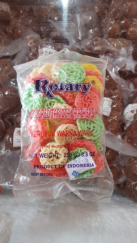 Rotary Kerupuk Warna Warni 250 gr