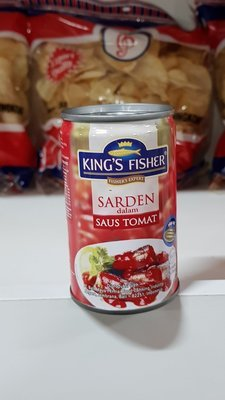 Sarden Saus/Saos Tomat King's Fisher