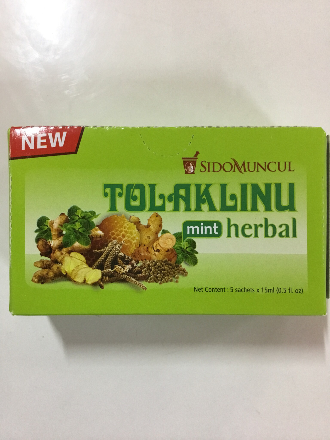 Sido Muncul Tolak Linu Herbal Mint