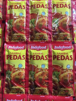 Indofood Sambal Pedas @3 sachet 9 gr