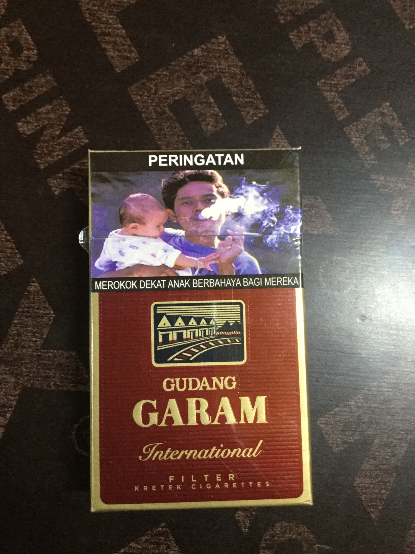 Rokok Gudang Garam pendek (gp)