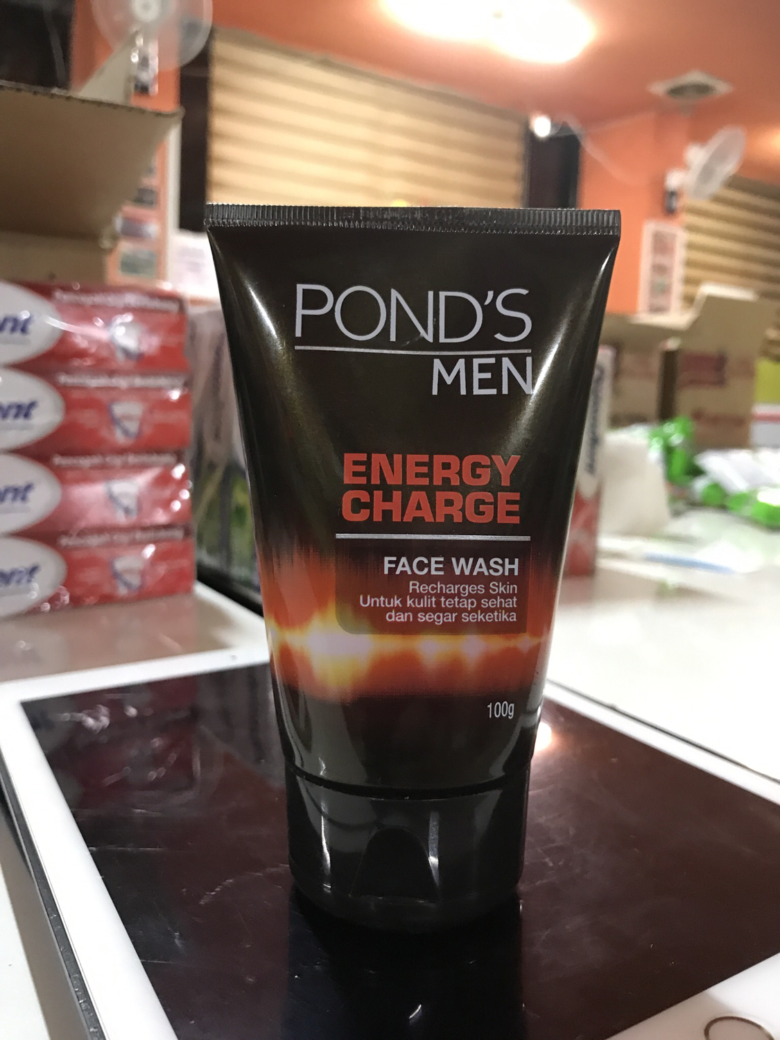 Ponds Men Energy Charge 100g