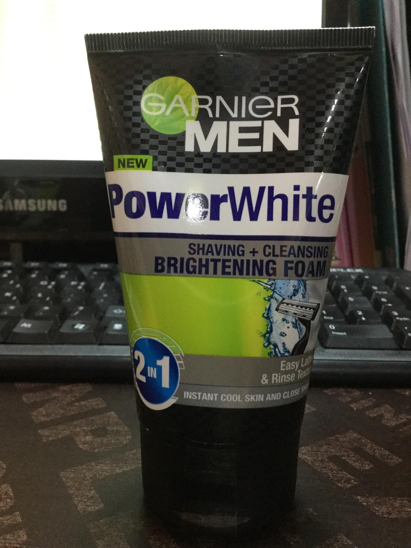 Garnier Men Power White (Brightening foam) 100ml