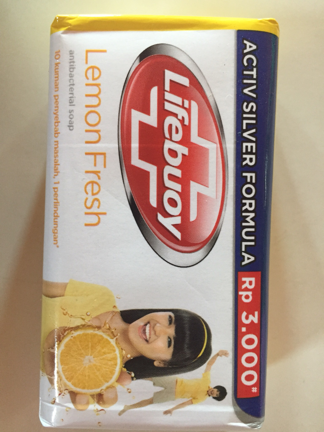 Lifebuoy Lemon Fresh-Sabun Batang 85g