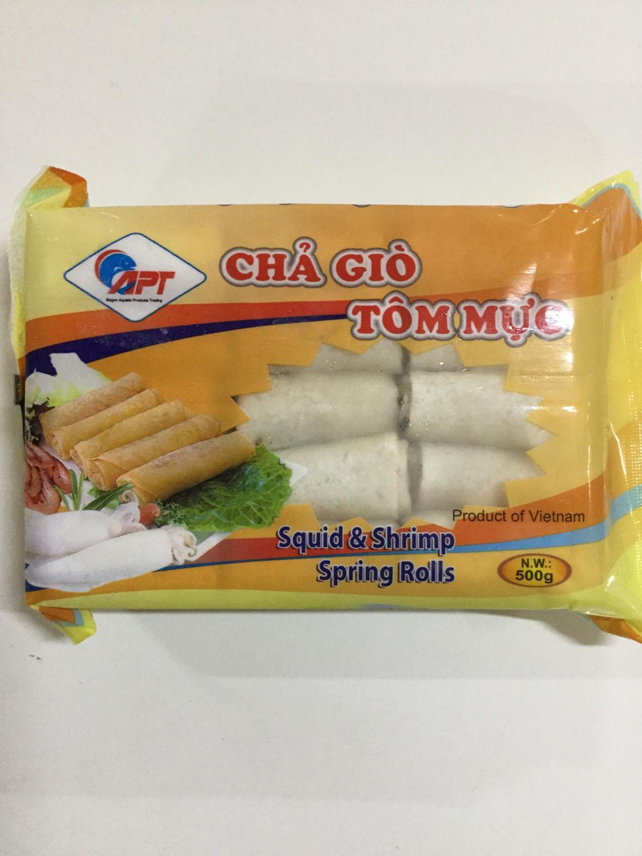 Resoles Seafood - Cha Gio Tom Muc (Cumi-Udang) 500g