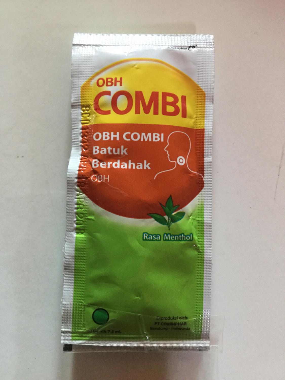 OBH Combi Obat Batuk 7,5ml x 3 sachet