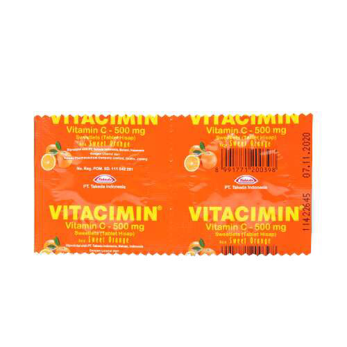 Vitacimin - Vit C rasa Sweet Orange