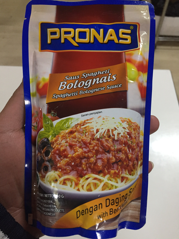 Pronas Saus Spaghetti Bolognais 350G