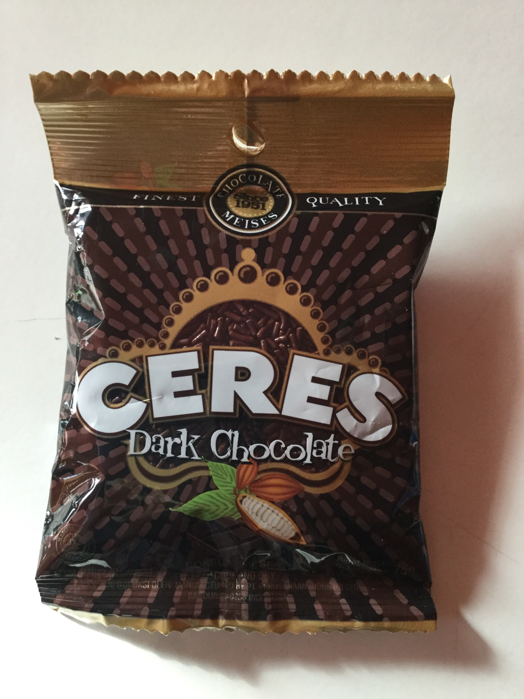 Ceres Dark Chocolate 75g