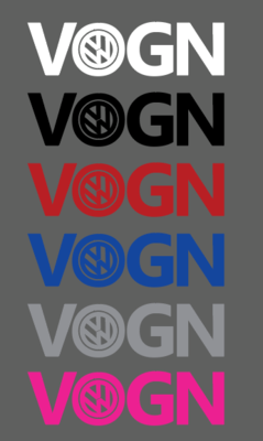 VOGN Sticker