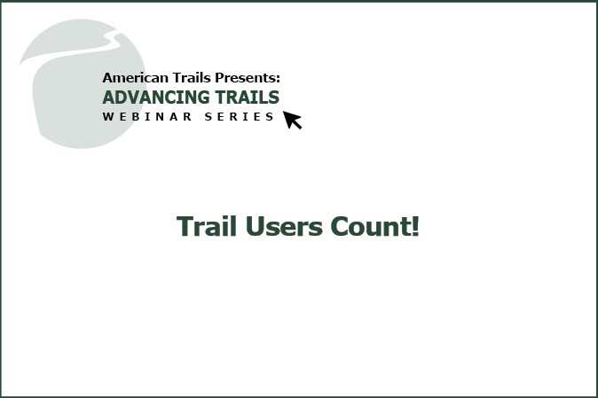 Trail Users Count! Automated Bicyclist and Pedestrian Trail User Counting in Greater Philadelphia (RECORDING)