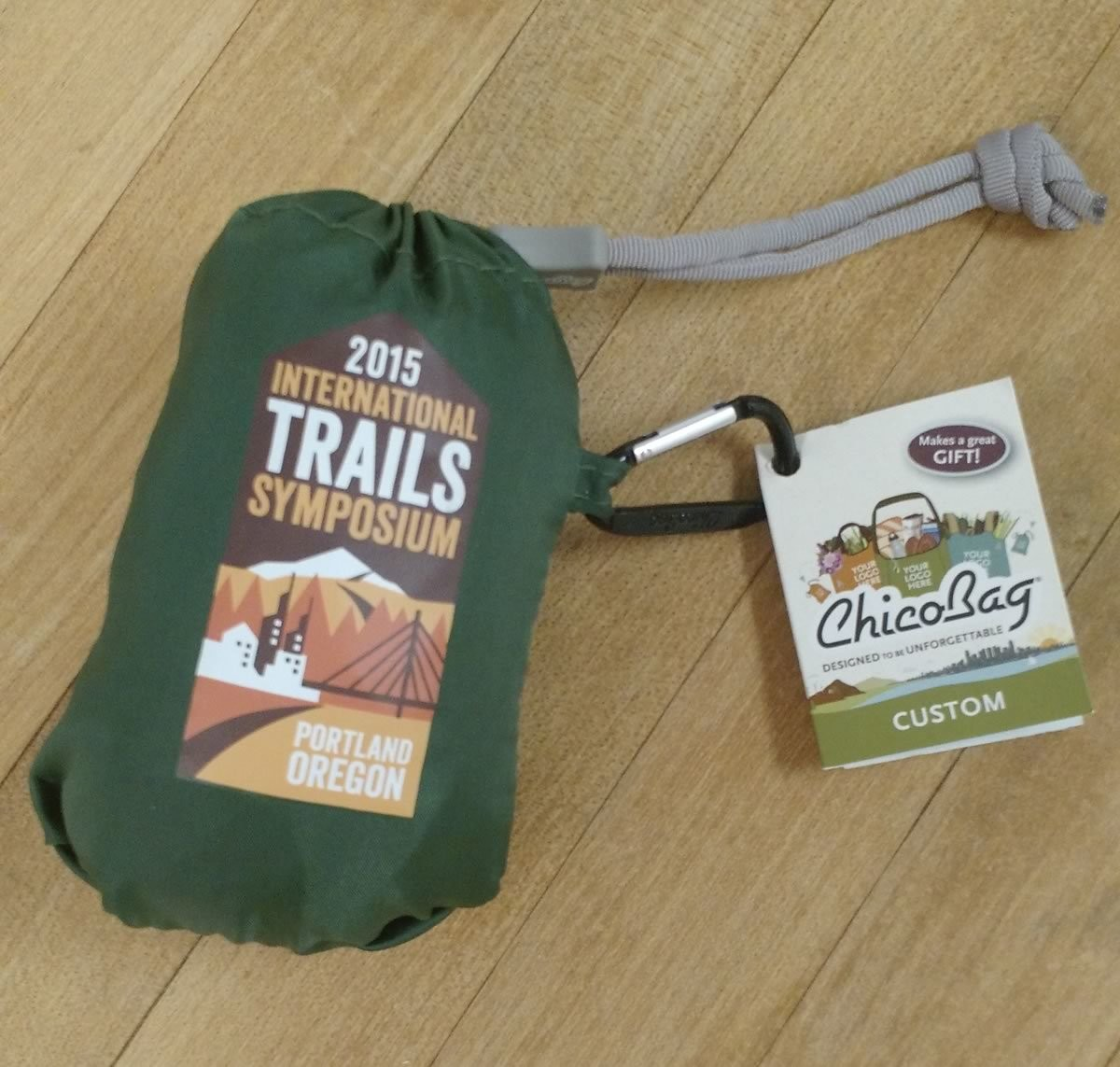 2015 International Trails Symposium ChicoBag