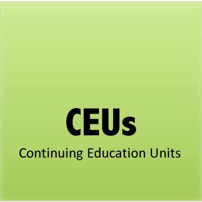 Continuing Education Units (CEUs)