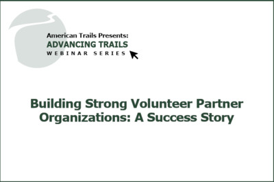 Building Strong Volunteer Partner Organizations: A Success Story (RECORDING)