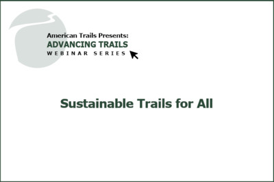 Sustainable Trails for All (RECORDING)