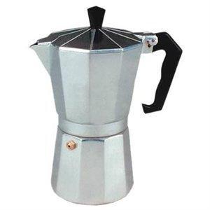 Cucina Pro Aluminum Espresso Maker 6 cup Model 00011