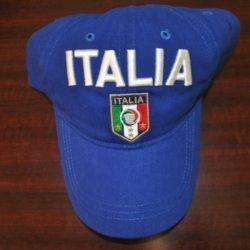 Blue Italia Soccer Hat 00183