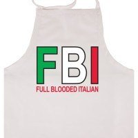 FBI Full Blooded Italian Apron