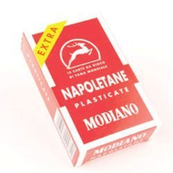 Napoletane Italian Playing Cards Modiano 00212