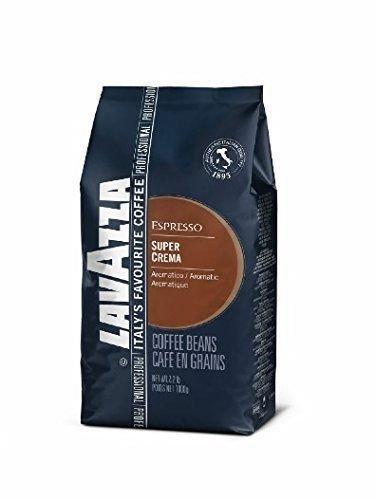 Lavazza Super Crema Espresso - Whole Bean Coffee 00217