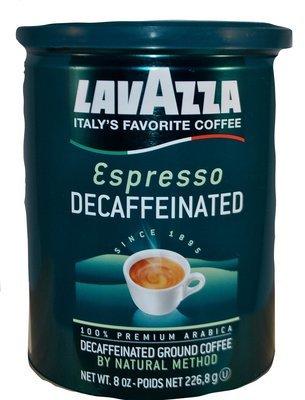 LavAzza Espresso Decaffeinated Ground Coffee