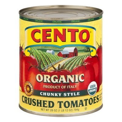 Cento Organic Chunky Style Crushed Tomatoes