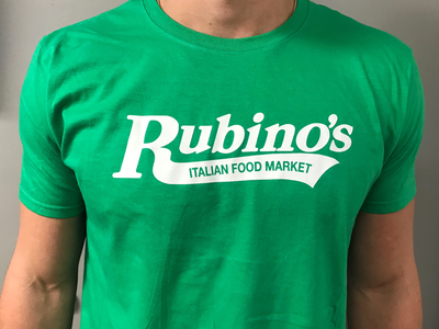 Rubino's Green T Shirt