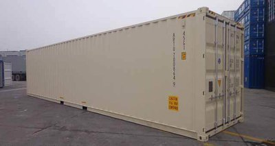 40' High Cube One Trip Container (New)