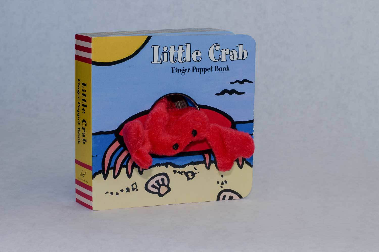 Little Crab Finger Puppet Book 00017