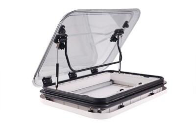 Extra Large Caravan RV Skylight Roof Vent Hatch 833 x 633 mm