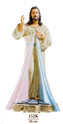 Barmhartige Christus 90 cm     Kunststof