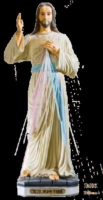 Barmhartige Christus 120 cm     Kunststof