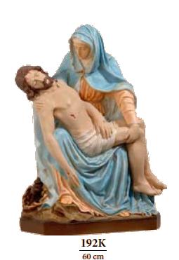 Pieta 60 cm     Kunststof