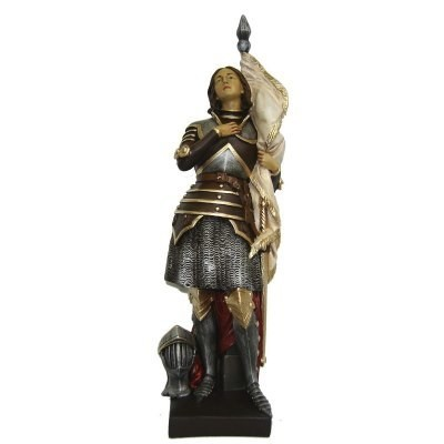 Jeanne d'Arc 45 cm steen