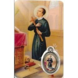Gerardus Kaartje met Medaille en Gebed