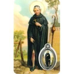 Peregrinus met Medaille en Gebed
