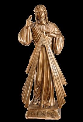 Barmhartige Christus 75 cm     Kunststof BRONSKLEUR