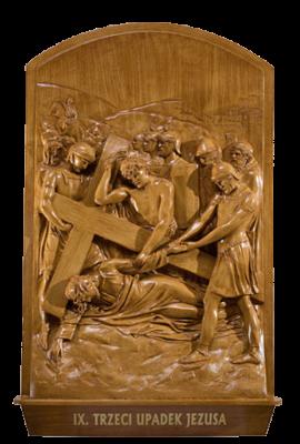KRUISWEG 56 x 90 cm Houtkleur  Kunststof