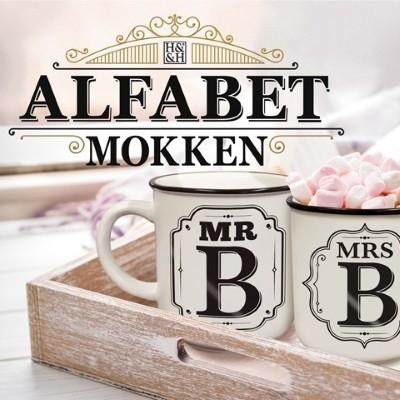 Alfabet Mokken - KIES UW LETTER-