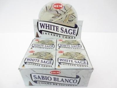 Witte Salie kegeltjes