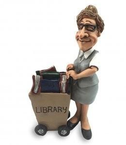 bibliothecaris vrouw