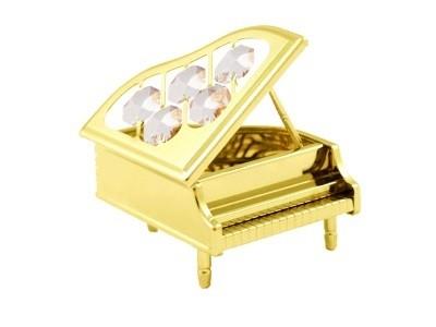 PIANO Swarovski® Crystals - 24 K Verguld