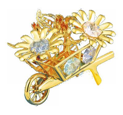 KRUIWAGEN Swarovski® Crystals - 24 K Verguld