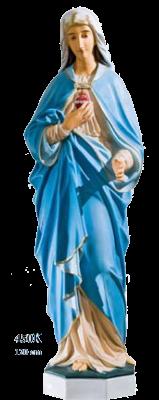 Heilig Hart Maria 120 cm     Kunststof