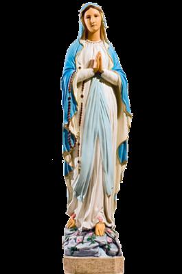 Lourdes 67 cm     Kunststof