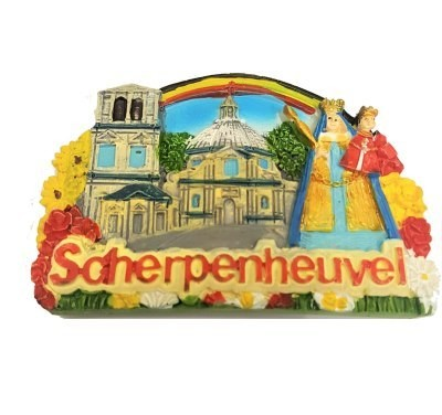 Magneet Scherpenheuvel  5 x 7.5 cm