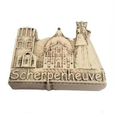 Magneet Scherpenheuvel  4 x 6 cm