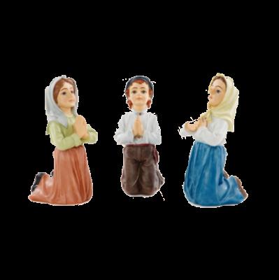 Kinderen Fatima 30 cm     Kunststof  set van 3