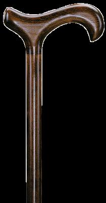 Wandelstok hout-bruin 94 cm