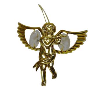 ENGEL Swarovski® Crystals - 24 K Verguld